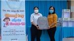 Bệnh viện Mắt Sài Gòn Cần Thơ đồng hành với các trường tiểu học trong công tác phòng chống dịch Covid-19