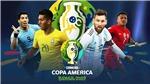 Lịch thi đấu Copa America 2019. Lịch thi đấu Tứ kết Copa America 2019
