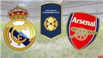 Xem trực tiếp bóng đá Real Madrid vs Arsenal(06h00 ngày 24/7)