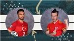 Xem trực tiếp bóng đá Thổ Nhĩ Kỳ vs Wales EURO 2021 hôm nay kênh nào, VTV6 hay VTV3?