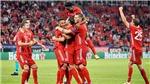 Bóng đá hôm nay 25/9: Bayern đăng quang Siêu cúp. Liverpool thắng, MU tiến gần tới Telles