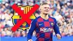 Haaland từng bị chê không đủ điều kiện đá cho Barcelona