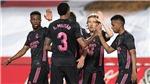 Granada 1-4 Real Madrid: Real tạo áp lực cực lớn lên Atletico