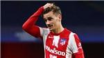 Griezmann gây thất vọng tại Atletico vì thống kê toàn 0