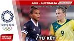 Kèo nhà cái. Soi kèo bóng đá nữ Anh vs Úc. Nhận định bóng đá Olympic 2021