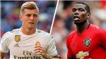 Tin tức chuyển nhượng 17/9: MU đổi Pogba lấy Kroos. Real Madrid mua Mbappe