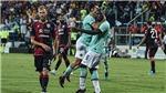 VIDEO Cagliari 1-2 Inter: Lukaku tiếp tục tỏa sáng, Inter Milan vững ngôi đầu Serie A
