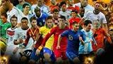 Tuyệt đẹp bộ poster những ngôi sao World Cup 2014 với thiên nhiên Brazil