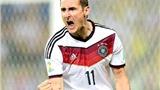 Miroslav Klose lập kỷ lục ghi bàn ở các kỳ World Cup: Khi 'số 9' đích thực là của hiếm