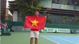 Hoàng Thiên lập kỳ tích, tuyển quần vợt Việt Nam tranh suất lên nhóm 1 Davis Cup