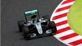 Lewis Hamilton về nhất chặng đua thử ở Tây Ban Nha GP