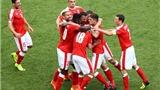 Romania 1-1 Thụy Sĩ: Mehmedi tỏa sáng, giúp Thụy Sĩ thoát thua trước Romania