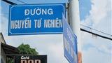 Chuyện lạ: Danh họa Nguyễn Tư Nghiêm vừa mất, nhưng đã có tên đường từ 16 năm trước