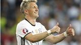 Sau 120 trận, Bastian Schweinsteiger đã quyết định từ giã đội tuyển Đức
