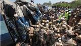 Ấn Độ: Tàu hỏa trật bánh, 60 người thiệt mạng