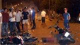KINH HOÀNG: 2 xe máy đâm nhau, 5 người chết, 1 người hôn mê