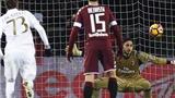 Donnarumma xuất sắc cản penalty, Milan ngược dòng giành 1 điểm trước Torino
