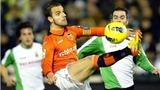 Vòng 20 Liga: Valencia, Sevilla đều mất điểm
