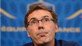 Laurent Blanc chính thức rời đội tuyển Pháp
