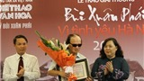 Giải Bùi Xuân Phái – Vì Tình yêu Hà Nội năm 2012