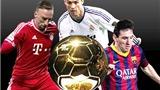 Đêm nay trao giải Quả bóng Vàng FIFA 2013: Tam hùng phân tranh