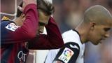 Barca thất bại trước Valencia: Phòng ngự như… không phòng ngự