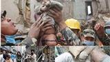"""""""Thượng Đế chưa rời bỏ chúng ta"""" trong đống đổ nát ở Nepal"""