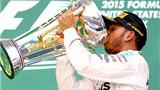 F1 chặng 16, GP Mỹ: Hamilton lại trên đỉnh thế giới