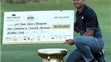 Giải golf Hồ Tràm Players Championship 2016: Sergio Garcia bảo vệ chức vô địch