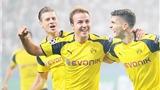 Mario Goetze nổ súng, Dortmund 'đánh tennis' ở Ba Lan