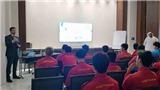 Tuyển thủ Việt Nam hào hứng trải nghiệm công nghệ VAR
