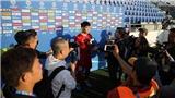 Tiền đạo Ngân Văn Đại: 'Gặp Nhật Bản, Việt Nam phải chơi với hơn 100% sức'