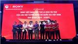 Sony sát cánh cùng các đội tuyển bóng đá quốc gia Việt Nam