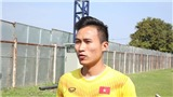 Tiền vệ Triệu Việt Hưng: 'U23 Việt Nam cố giành 3 điểm trước Jordan'