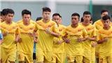 33 cầu thủ U22 Việt Nam tập trung 3 đợt, không có Văn Hậu