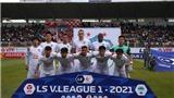 Cập nhật trực tiếp bóng đá LS V-League 2021: HAGL vs Bình Dương. Hà Nội vs Sài Gòn