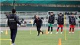 Thời tiết thử thách cầu thủ U23 Việt Nam