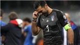 Gigi Buffon bật khóc: 'Xin lỗi vì đã kết thúc theo cách này'