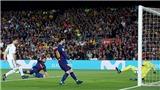Barcelona 2-2 Real Madrid: Ronaldo gọi, Messi trả lời, chia điểm trong trận cầu đầy bạo lực