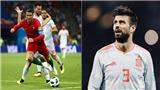 Pique: 'Ronaldo toàn ăn vạ để kiếm penalty'