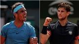 Nadal thắng thuyết phục Del Potro, gặp Thiem ở chung kết Pháp mở rộng