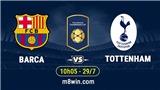 Video clip highlights bàn thắng Barcelona 2-2 Tottenham