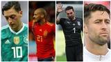 Có nguyên một đội hình 11 cầu thủ 'xịn' chia tay ĐTQG trong năm 2018