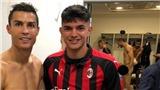 Sao trẻ Milan gặp rắc rối lớn vì 'tự sướng' với Ronaldo