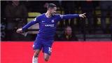 VIDEO Watford 1-2 Chelsea: Hazard lập cú đúp, gia nhập CLB 100