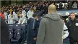 Sarri nói gì khi từ chối bắt tay Guardiola sau trận thua Man City?