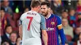 Milner tiết lộ hai từ bị Messi 'lăng mạ' trong trận bán kết Champions League