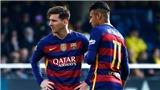 Messi 'mách nước' để Neymar trở về Barca trong yên bình