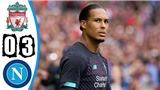 Liverpool 0-3 Napoli: Hàng công tắt điện, Liverpool thua tan nát Napoli