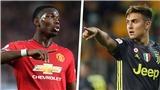 CHUYỂN NHƯỢNG MU 9/7: Pogba sẽ ra đi. Dybala sẽ gia nhập MU. Gặp khó vụ Everton